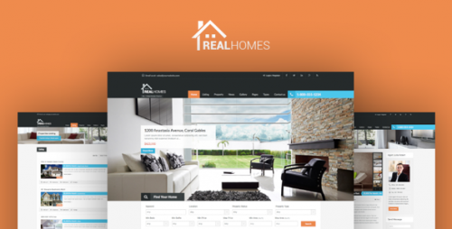 [nulled] Real Homes v2.6.2 - Themeforest WordPress Real Estate Theme