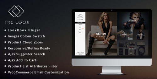 [nulled] The Look v1.5.9 - Clean, Responsive WooCommerce Theme cover