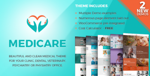 [nulled] Medicare v1.1.3 - Medical & Health Theme Product visual