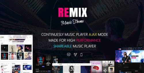 [nulled] Remix v3.6.2 - Music-Band-Club-Party-Event WP Theme download