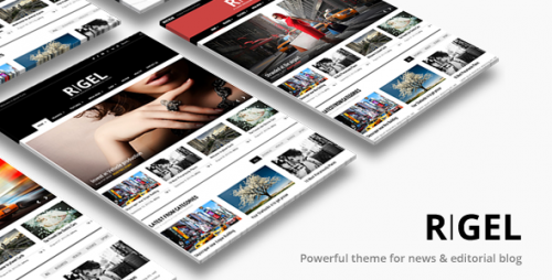 [nulled] Rigel v1.4.1 - Responsive Magazine Newspaper Theme product