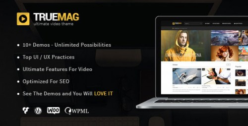 [nulled] True Mag v4.2.9.5 - WordPress Theme for Video and Magazine image