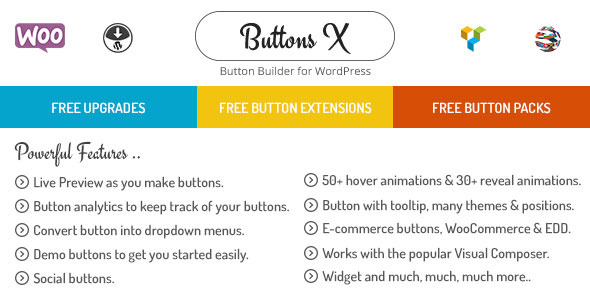 [nulled] Buttons X v1.6 - Powerful Button Builder for WordPress