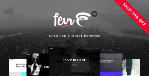 [nulled] Fevr v1.2.2 - Creative MultiPurpose WordPress Theme logo