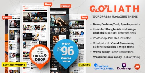 [nulled] GOLIATH v1.0.33 - Ads Optimized News & Reviews Magazine