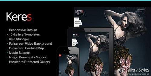 [nulled] Keres v2.6 - Fullscreen Photography Theme - WordPress product graphic