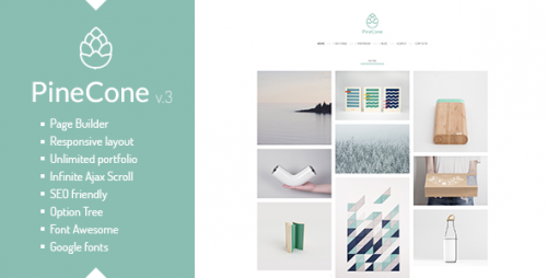 [nulled] PineCone v3.4.2 - Creative Portfolio and Blog for Agency