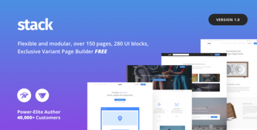 [nulled] Stack - Multi-Purpose Theme with Variant Page Builder