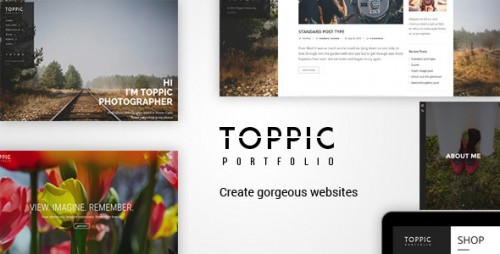 [nulled] TopPic Photography v1.7 - Portfolio Photography Theme pic
