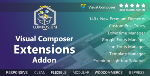 [nulled] Visual Composer Extensions Addon v5.1.7 - WordPress Plugin pic