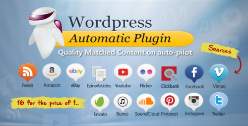 [nulled] WordPress Automatic Plugin v3.29.0 cover
