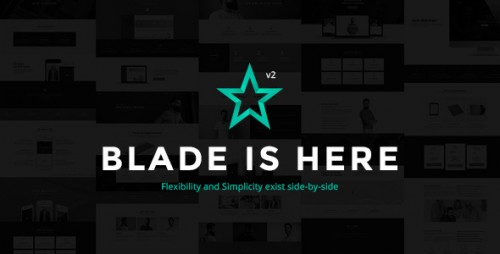 Blade v2.5.2 - Responsive Multi-Functional Theme program
