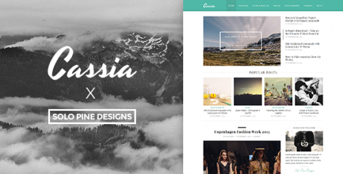 [nulled] Cassia v1.1 - A Responsive WordPress Blog Theme product logo