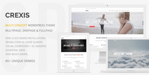 [nulled] Crexis v2.1 - Responsive Multi-Purpose WordPress Theme photo