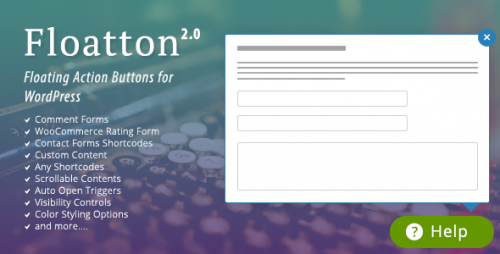 [nulled] Floatton v2.0 - WordPress Floating Action Button with Pop-up visual
