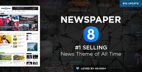 [nulled] Newspaper v8.0 - WordPress News Theme pic