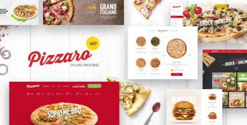 [nulled] Pizzaro v1.1.3 - Fast Food & Restaurant WooCommerce Theme product cover