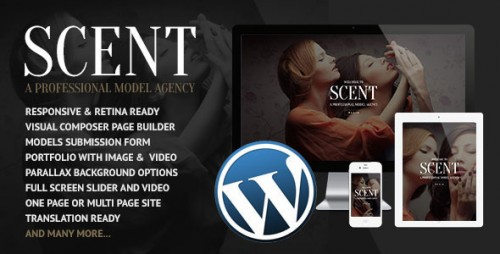 [nulled] Scent v3.2.6 - Model Agency WordPress Theme