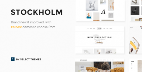 [nulled] Stockholm v3.8.1 - A Genuinely Multi-Concept Theme picture