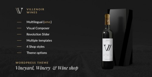 [nulled] Villenoir v2.7 - Vineyard, Winery & Wine Shop - WordPress