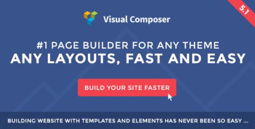 [nulled] Visual Composer v5.1.1 - Page Builder for WordPress product picture