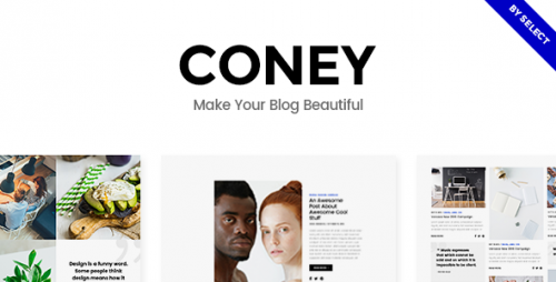 [nulled] Coney v1.1 - A Trendy Theme for Blogs and Magazines picture