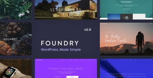 [nulled] Foundry v2.0.8 - Multipurpose, Multi-Concept WP Theme pic