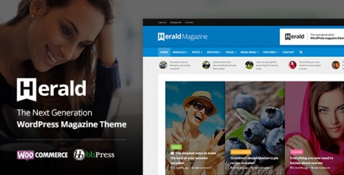 [nulled] Herald v1.7 - News Portal & Magazine WordPress Theme download