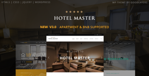 [nulled] Hotel Master v3.01 - Hotel Booking WordPress Theme download