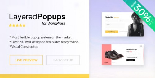 [nulled] Layered Popups for WordPress v6.14 product photo