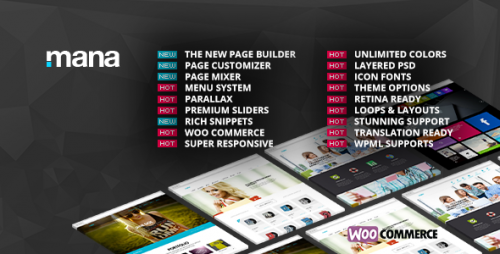 [nulled] Mana v1.9.12 - Themeforest Responsive Multi-Purpose Theme