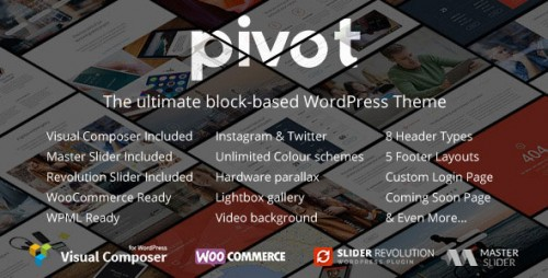 [nulled] Pivot v1.4.19 - Responsive Multipurpose WordPress Theme