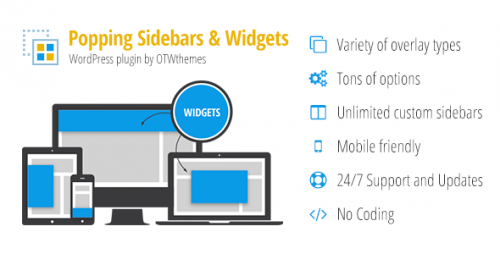 [nulled] Popping Sidebars and Widgets for WordPress v2.1.3 product image