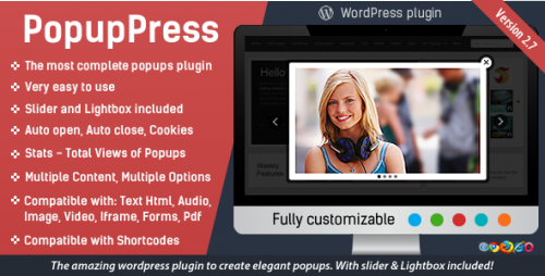 [nulled] PopupPress v2.7.0 - Popups with Slider & Lightbox for WordPress