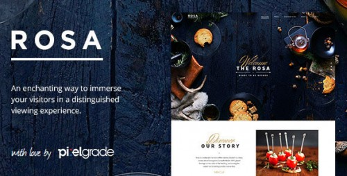 [nulled] ROSA v2.2.8 - An Exquisite Restaurant WordPress Theme visual