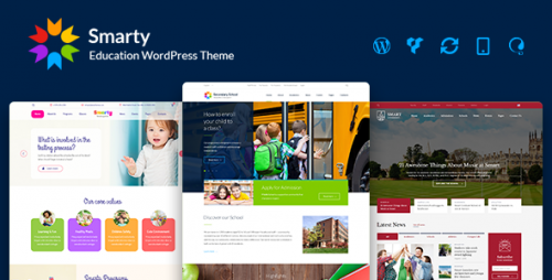 [nulled] Smarty v2.5 - Education WordPress Theme for Kindergarten product picture