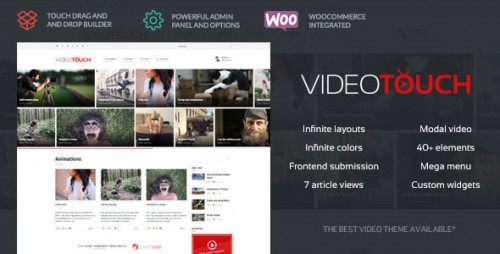 [nulled] VideoTouch v1.8.3 - Themeforest Video WordPress Theme download