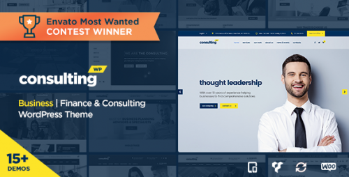 [nulled] Consulting v3.7.4 - Business, Finance WordPress Theme pic