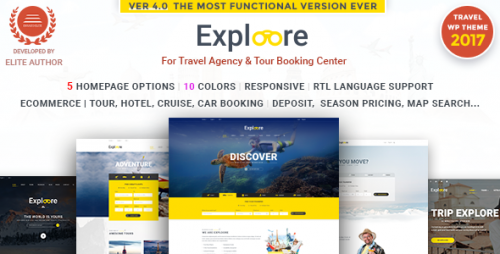 [nulled] EXPLOORE v3.1.0 - Tour Booking Travel WordPress Theme download