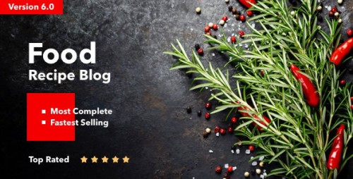 [nulled] Neptune v6.1 - Theme for Food Recipe Bloggers & Chefs product snapshot