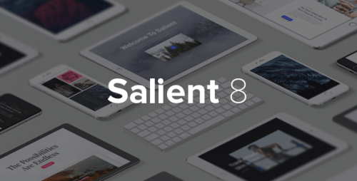 [nulled] Salient v8.0.16 - Responsive Multi-Purpose Theme product