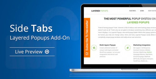 [nulled] Side Tabs v1.4.6 - Layered Popups Add-On - WordPress product
