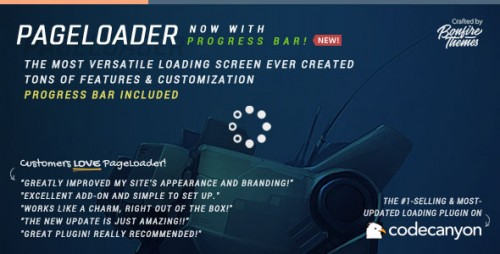 PageLoader v2.7 - Loading Screen and Progress Bar - WordPress product picture