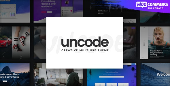 [nulled] Uncode v2.3.6 - Creative Multiuse WordPress Theme