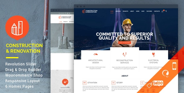 [nulled] Construction v18.1 - Construction Building Company WordPress Theme