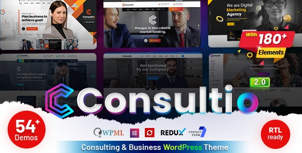 [nulled] Consultio v2.0 - Consulting Corporate WordPress Theme