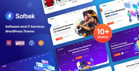 [nulled] Softek v1.2.0 - Software & IT Solutions WordPress Theme