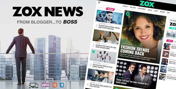 [nulled] Zox News v3.9.0 - Professional WordPress News
